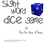 Dice Sight Word Game