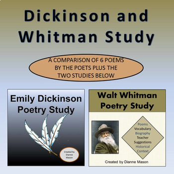 Dickinson and Whitman Poetry Study