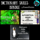 Dictionary Skills Bundle