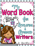 Dictionary Word Book for Independent Writers