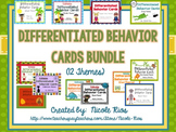 Differentiated Behavior Cards Growing Bundle