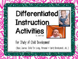 Differentiated Instruction Activities - Basic Child Develo
