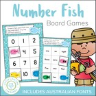 Differentiated Number Word and Numeral Game - ELEMENTARY &