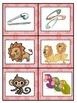 Differentiated Pretty in Pink Zebra Plural & Singular Noun Sort