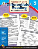 Differentiated Reading for Comprehension Grade 2 SALE 20%