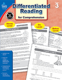 Differentiated Reading for Comprehension Grade 3 SALE 20%
