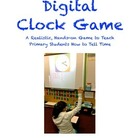 Digital Clock Game, COMMON CORE, a FUN way to learn to tell time!