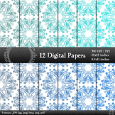 Digital Paper Making Pack Page Clipart Book Seamless A4 Su