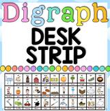 Digraph Desk Tag - Desk Strip - 1 page