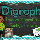 Digraph Puzzles, Searches, Sorts, & Such