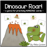 Dinosaur Roar! { Nonsense Word Edition }