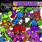 Dinosaurs {Creative Clips Digital Clipart}