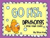 Dipthongs {Go Fish} Word Work [Reading] Station Center Game