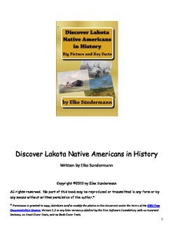 Discover Lakota Native Americans in History
