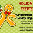 Disguise the Gingerbread Man