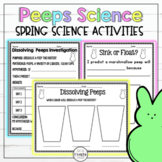 Dissolving Peeps Spring Science Experiment