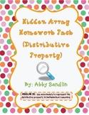 Distributive Property - Hidden Arrays - {Homework/Classwor