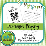 Distributive Property - QR Code Match Cards