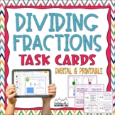 Dividing Fractions Task Cards {Divide with Visual Models}