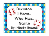 Division I Have... Who Has.... Game