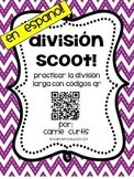QR Code Division Scoot in Spanish en espanol