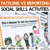 Do I Need To Tell The Teacher? (A Social Story)