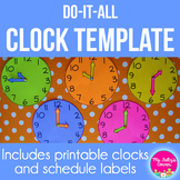 Clock Template: Do It All Clock