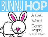 Do the Bunny Hop! {A CVC Word Game}