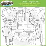 Doctor's Bag Line Art