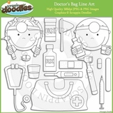 Doctor's Bag Line Art