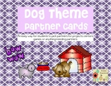 Dog Theme Partner Cards