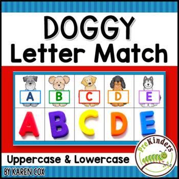 Dog Letter Match Game