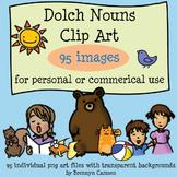 Dolch Noun Clip Art - 95 images