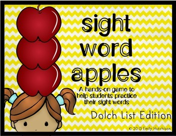 https://www.teacherspayteachers.com/Product/Dolch-Sight-Word-Game-Sight-Word-Apples-794671