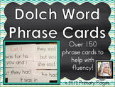 Dolch Word (Sight Words) Fluency Phrase Cards