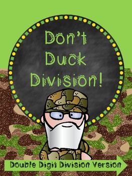 Don't Duck Division Review Game - Long Division Style