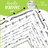 Doodle Borders Set 1