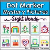 Sight Words - Dot Marker Mystery Picture Activities