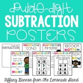 Double Digit Subtraction Posters {with and without regrouping}