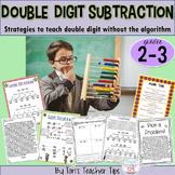 Double Digit Subtraction Strategies {Common Core Aligned}