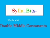 MAP Prep NWEA Reading Double Middle Consonants Syllables S