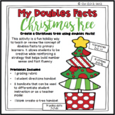 Doubles Facts Christmas Tree