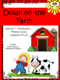 Down on the Farm Lesson Plan