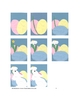 Downloadable Bunny, Eggs, and A Daisey Cut and Paste Patte