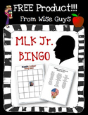 FREE Dr. Martin Luther King, Jr Bingo Activity Common Core