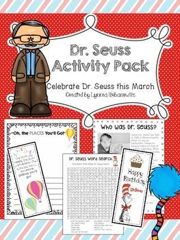 Dr. Seuss Activity Pack