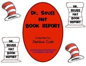 Dr. Seuss Hat Book Report