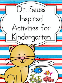 Dr. Seuss Themed Kindergarten Literacy Center Activity