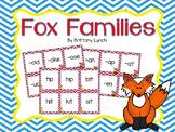 Fox Word Families