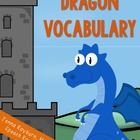 Dragon Vocabulary Words (Freebie)